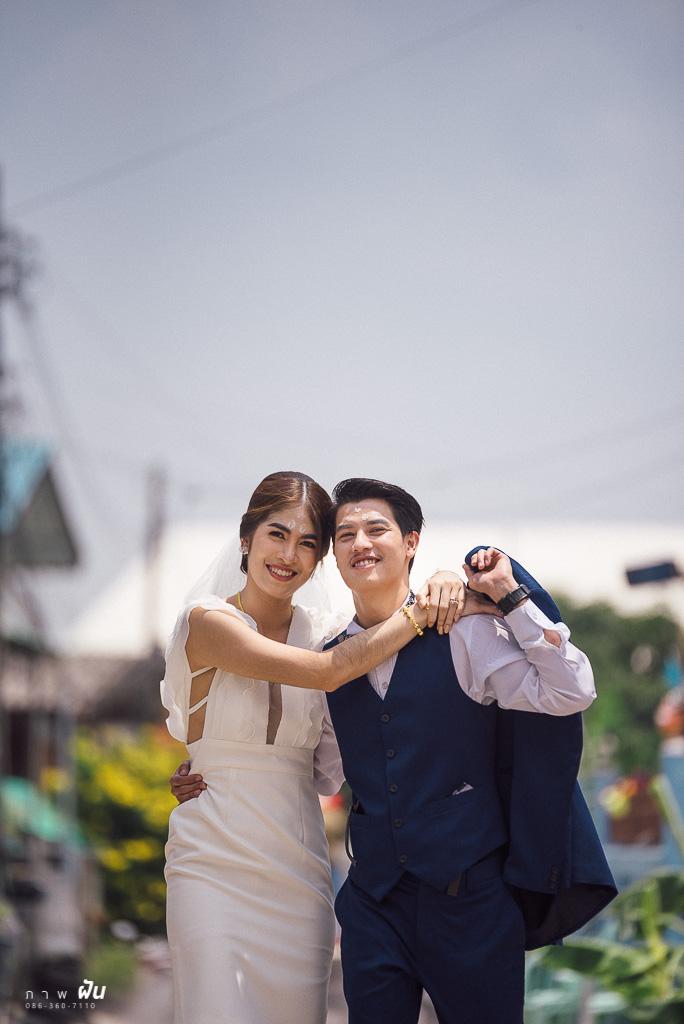 ภาพงานแต่งงานในซอยบ้านช่วง Covid-19 ฝีมือช่างภาพ ภาพฝัน
